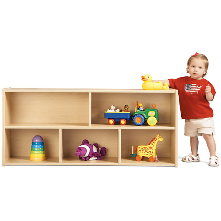 Young Time  Toddler Storage Shelf