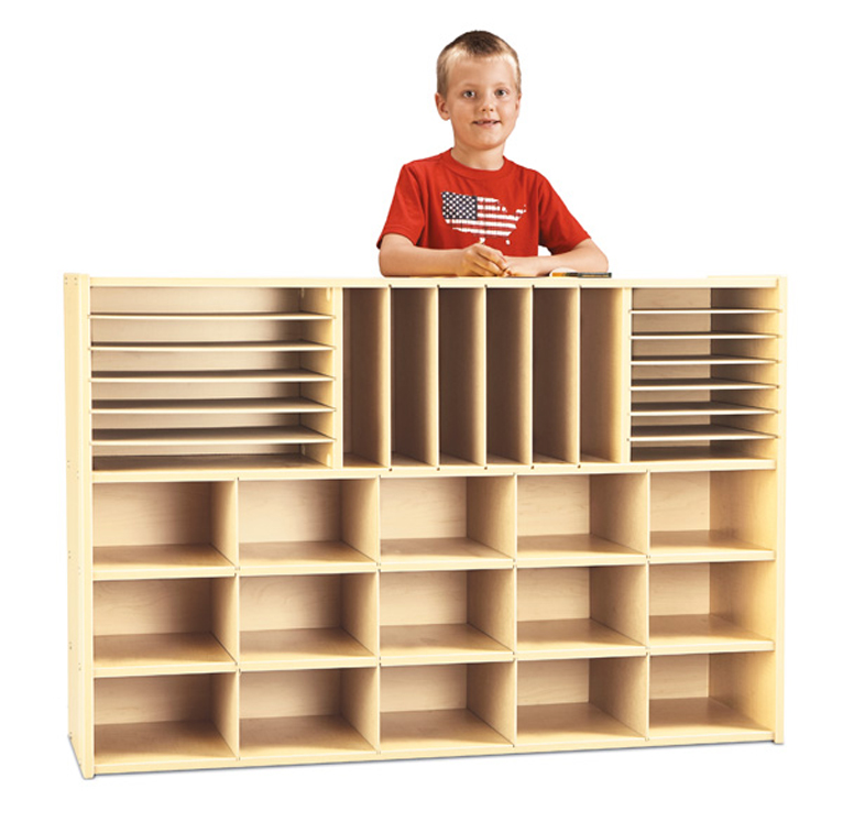 Young Time  Sectional Cubbie Storage