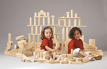 Young Time  Unit Block Set - 45 to 170 Pieces