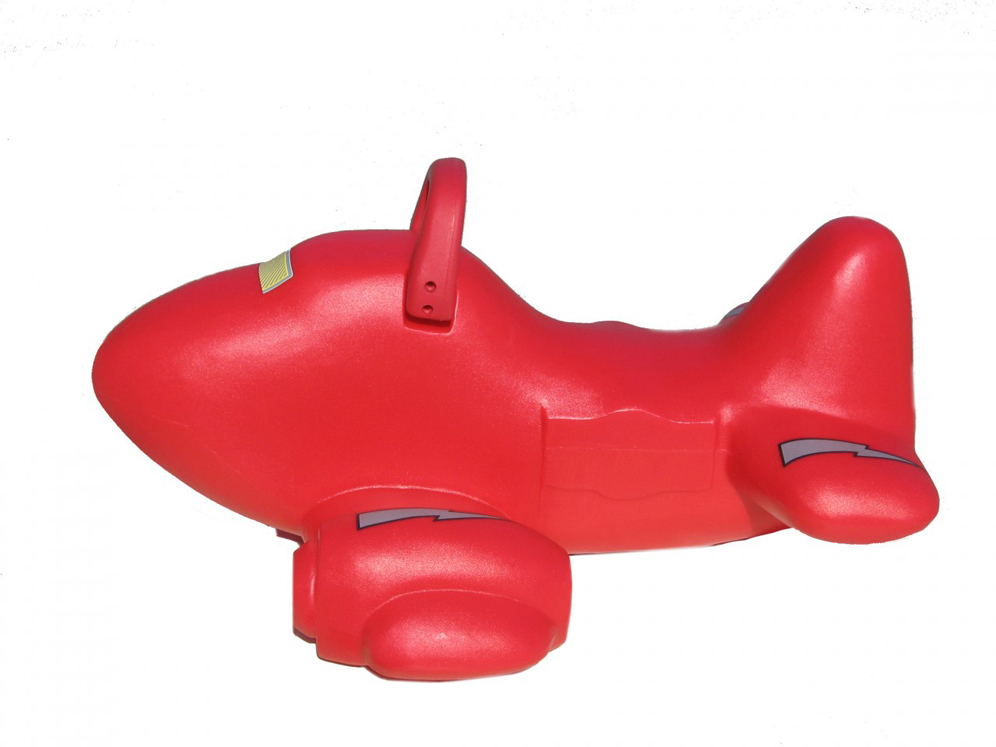 Roto Molded Spring Ride Airplane