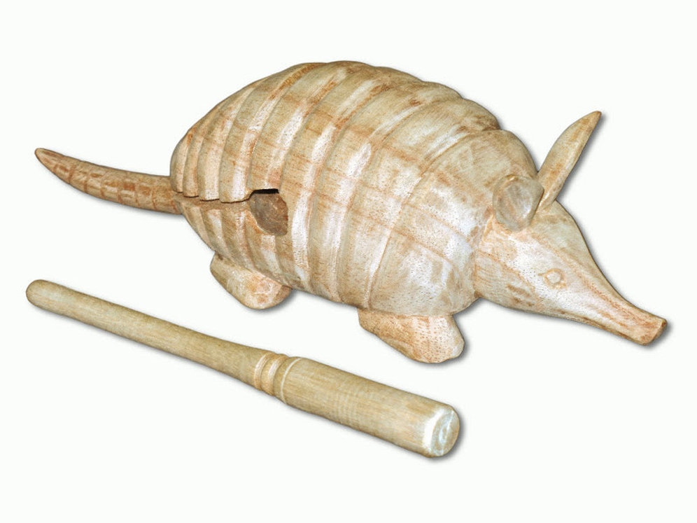 Armadillo Wood Block