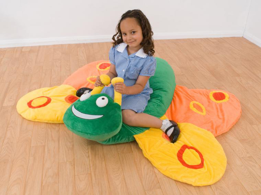 Betsy Butterfly - Giant Floor Cushion
