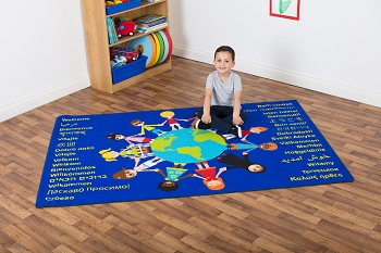 Multi-Cultural Nation Welcome Carpet