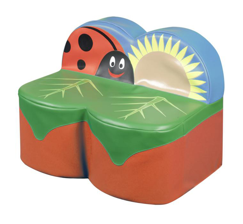 Back to Nature Ladybug 2 Seat Sofa (No Arms)