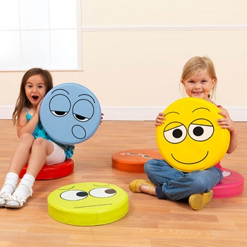 English Emotions Floor Cushions Pack 1