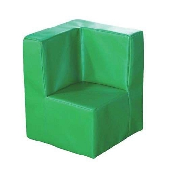 Kalocolor Modular Seating Corner Unit Seat - Apple Green