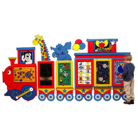 Circus Train Activity Panel - Multiple Panels Available