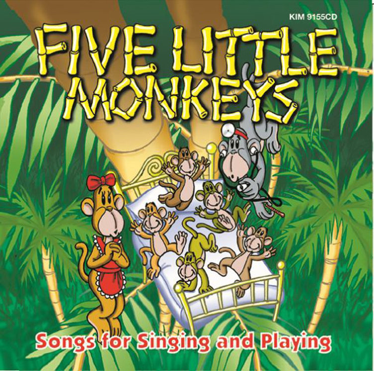 Five Little Monkeys (Award Winner)