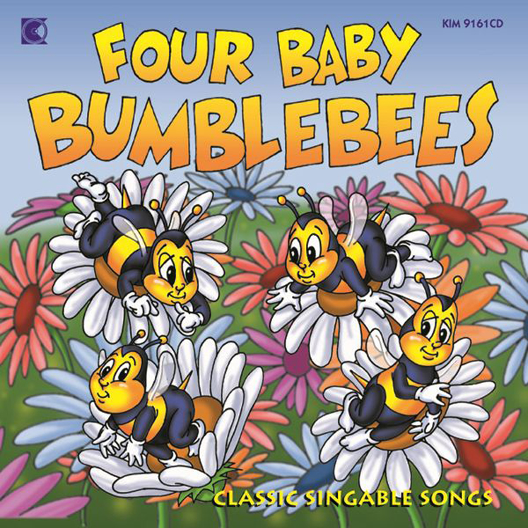 Four Baby Bumblebee's (Award Winner)