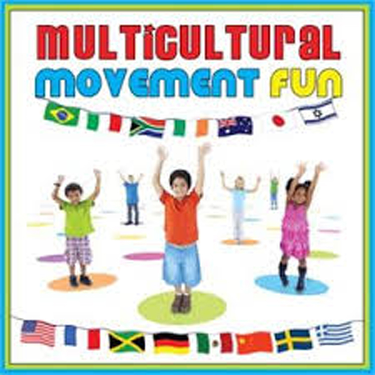 New! Multicultural Movement Fun CD