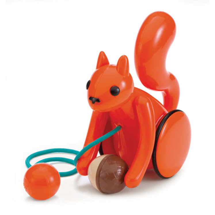 Nutty Squirrel Pull Toy