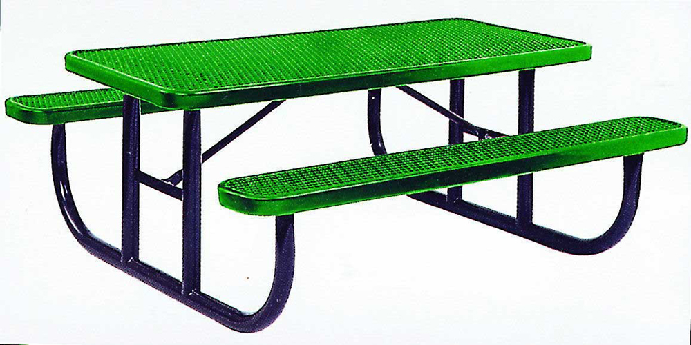 Steel Picnic Table - Select Size