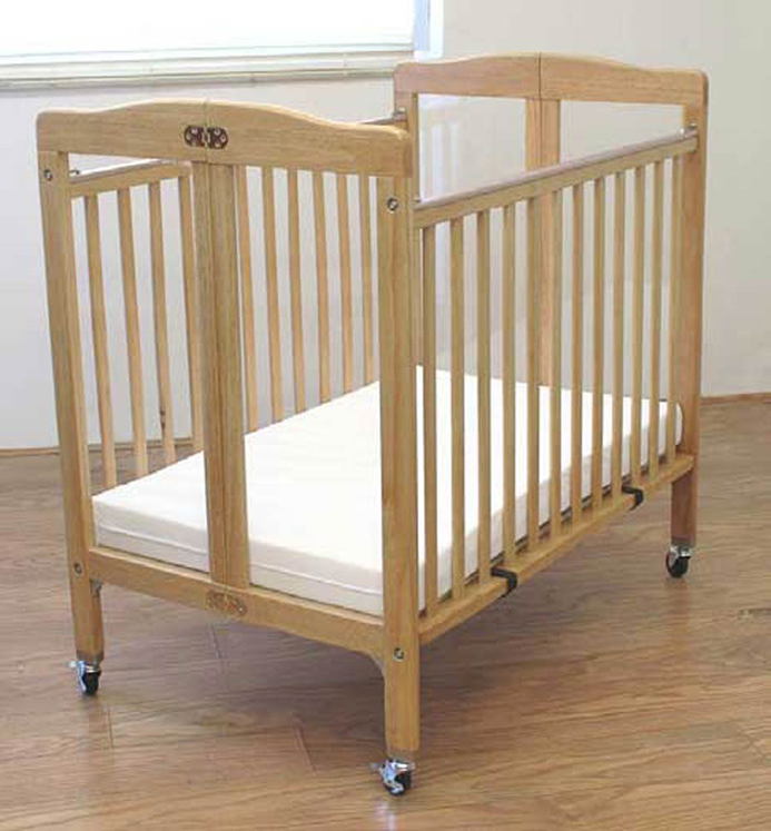 Folding Commercial Wood Mini Window Crib