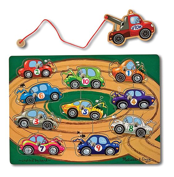 Magnetic Game Puzzles, Tow-Away Zone