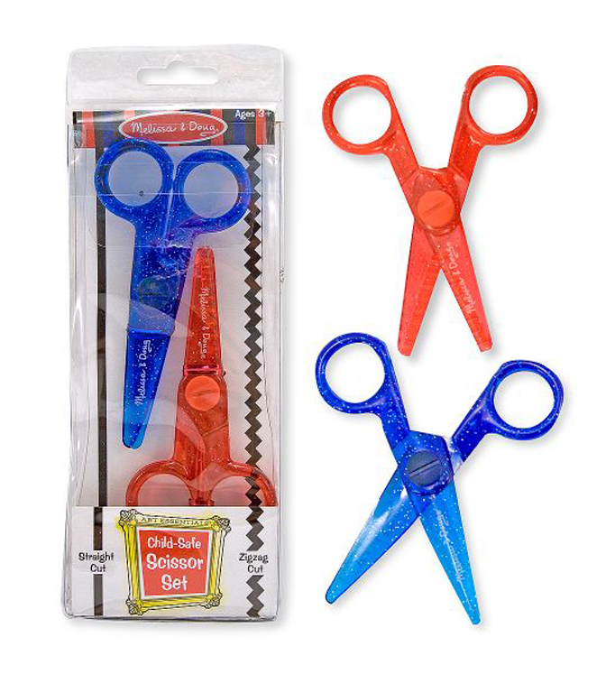Child-Safe Scissor Set - 2 Pieces