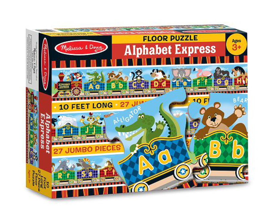 Alphabet Express - Floor Puzzle - 27 Pieces