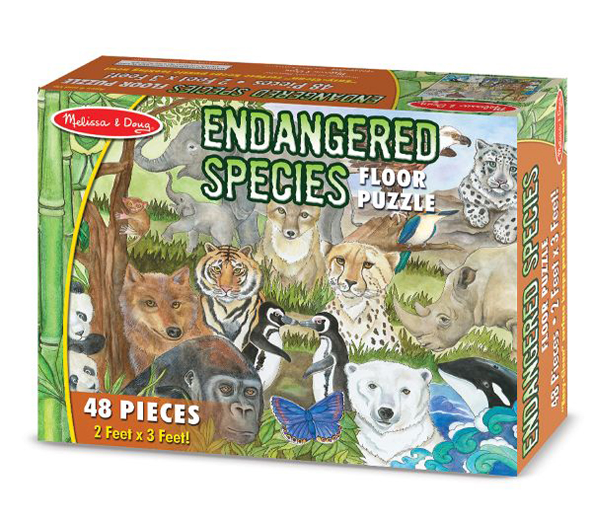 Endangered Species - Floor Puzzle