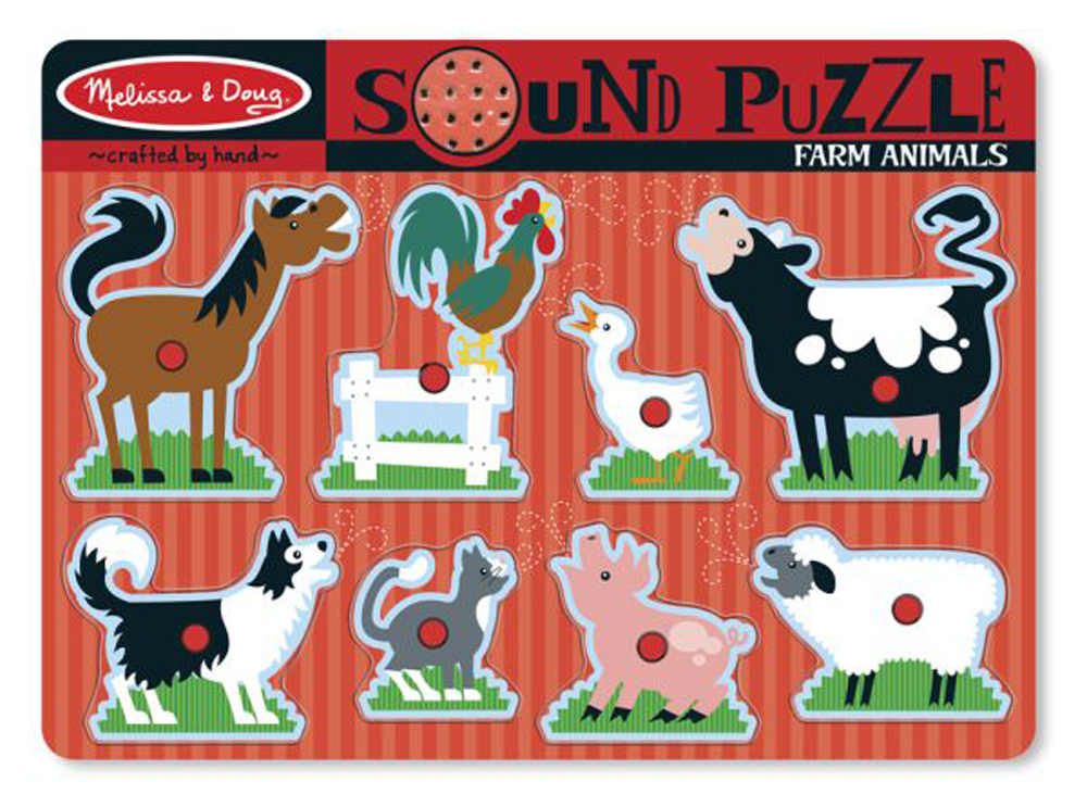 Farm Animals - Sound Puzzle