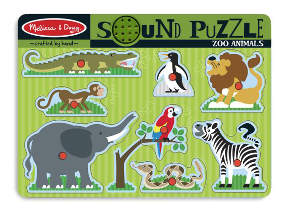 Zoo Animals - Sound Puzzle