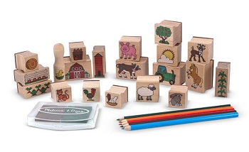 Stamp-A-Scene - Farm Set
