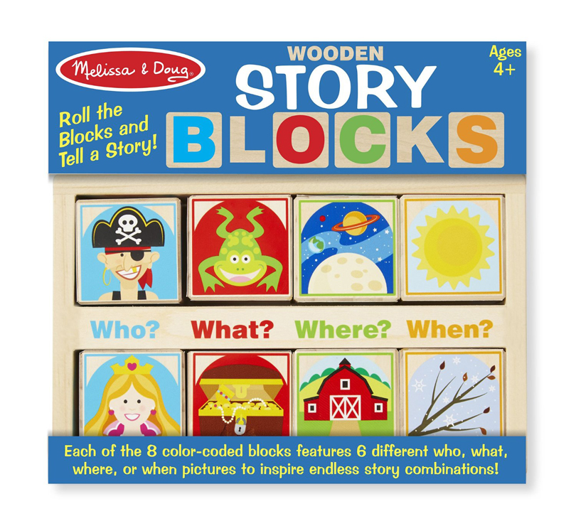 Wooden Story Blocks