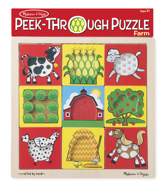 Peek-Through Puzzle - Farm