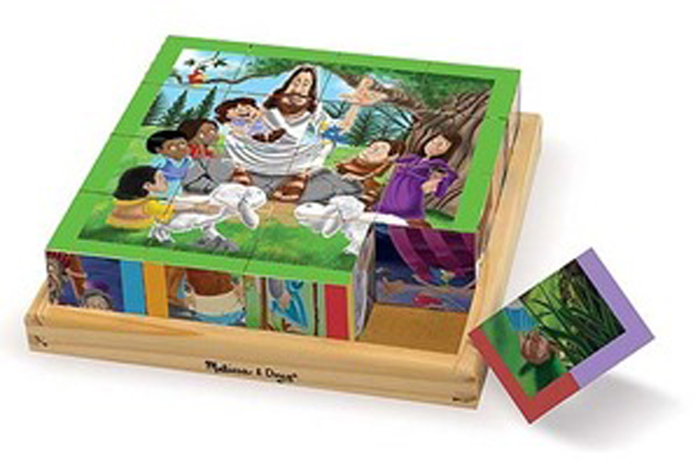 New Testament - Cube Puzzle