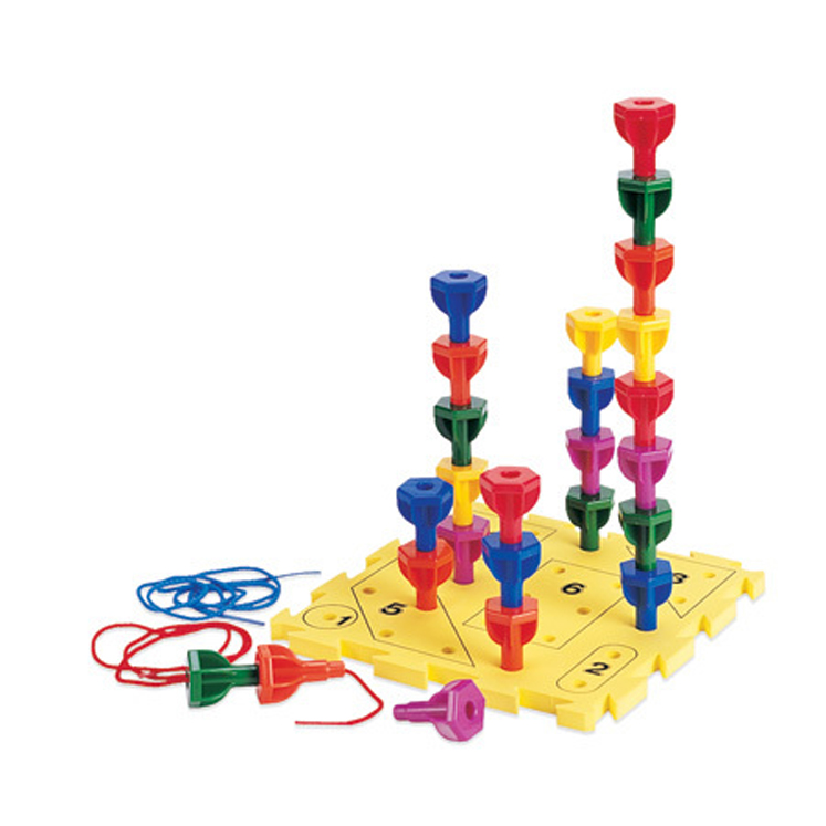 Rainbow Peg Play - Activity Set