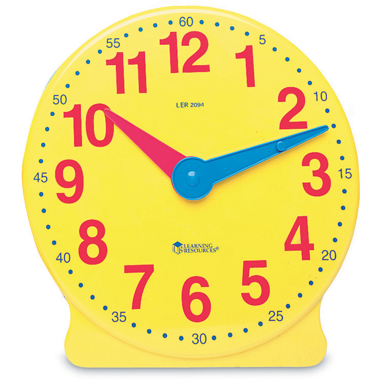 Big Time Learning Clock, 12 Hour Demonstration Clock Only