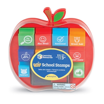 Pretend & Play® School Stamps