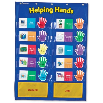 Helping Hands - Pocket Chart
