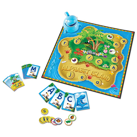 Alphabet Island - A Letter & Sounds Games