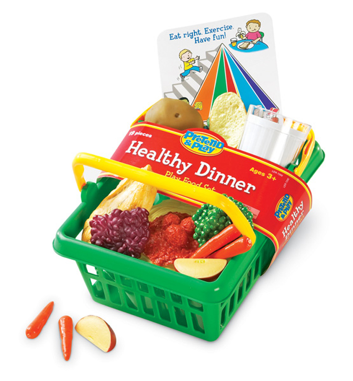 Pretend & Play Healthy Dinner Set