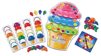 Smart Snacks Rainbow Color Cones Game