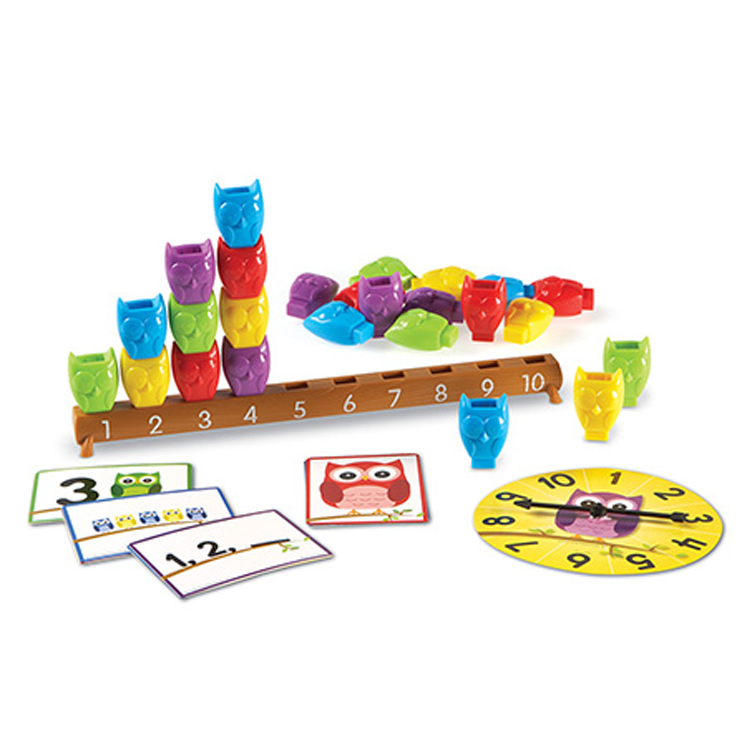 Learning Essentials 1-10 Counting Owls - Activity Set