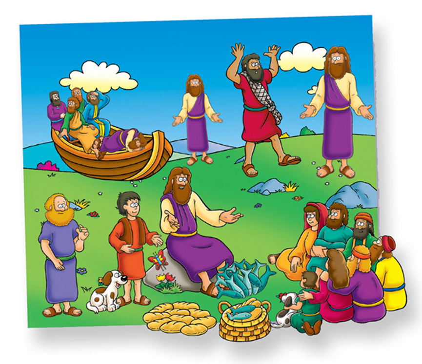 Miracles of Jesus - Felt Set