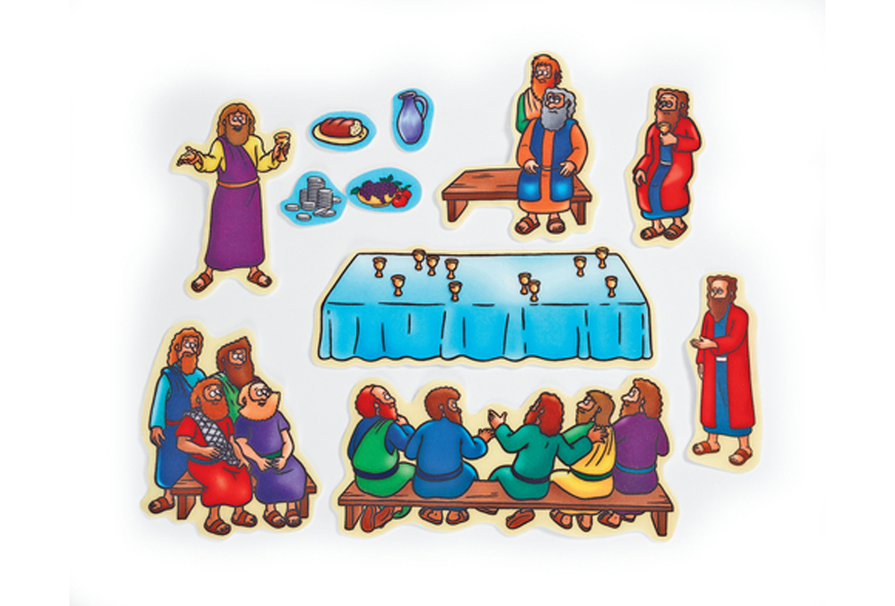 Beginners Bible Felt Story Set: Last Supper