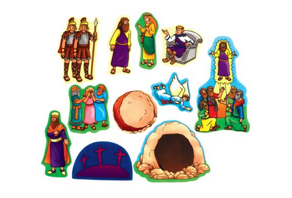 Easter Beginners Bible - Felt Story Set