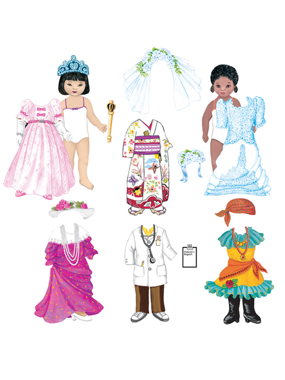 Dress Up Fun - Add-On Felt Set