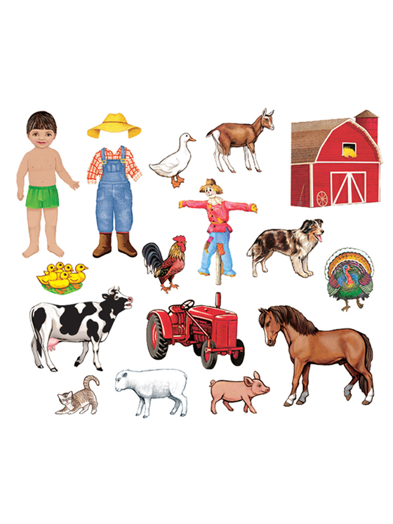 My Farm Friends - Add-On Felt Set