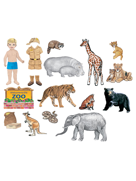 My Zoo Friends - Add-On Felt Set