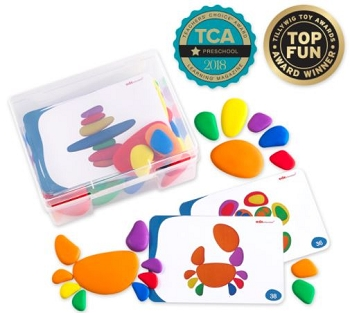 Rainbow Pebbles and Activity Cards
