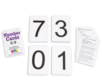 Number Cards, 0-9