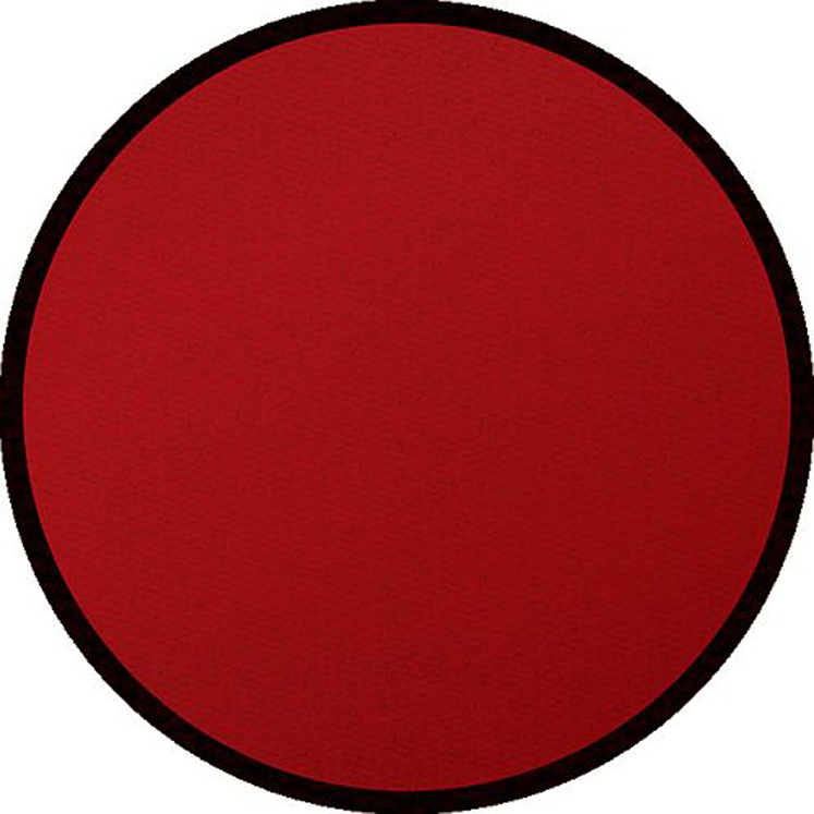 Solid Red - Round