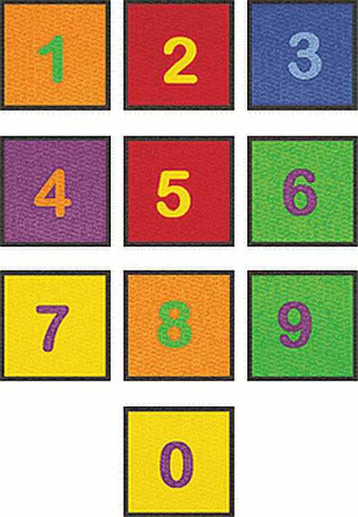 Number Squares - Kit of 10