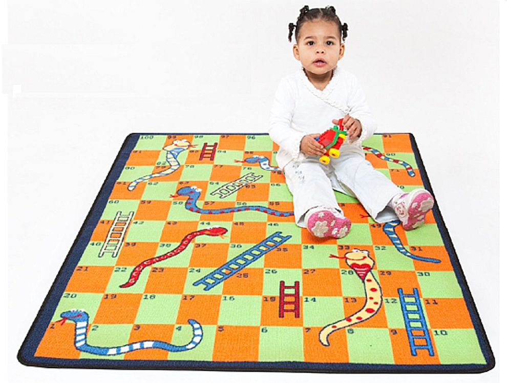 Snakes and Ladders Play Carpet