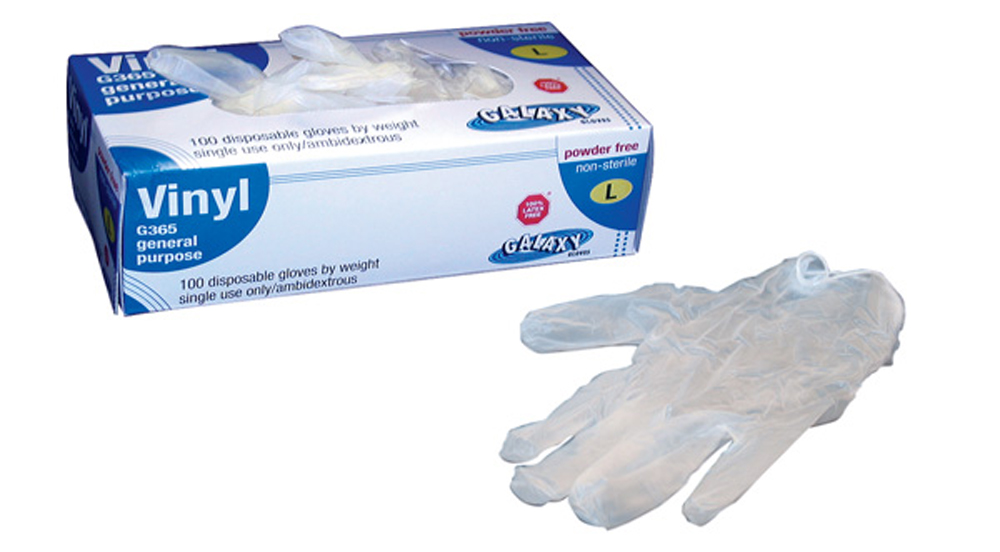 General-Purpose Vinyl Gloves, Large