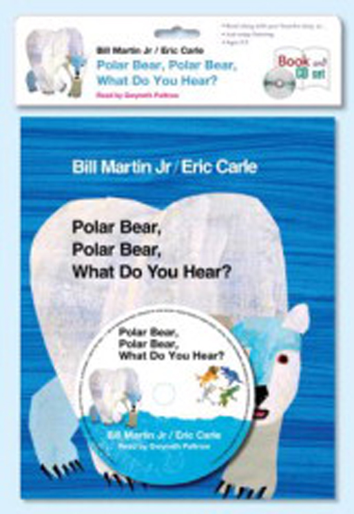 Carry Along Book & CD, Polar Bear, Polar Bear, What Do You Hear?