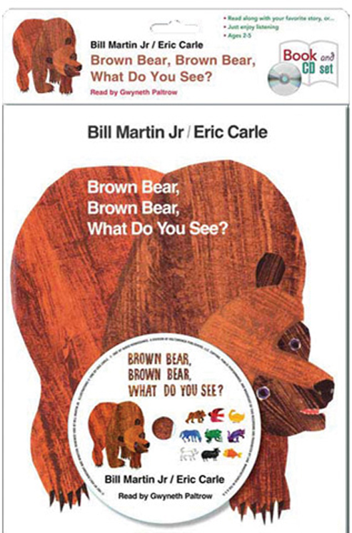 Carry Along Book & CD, Brown Bear, Brown Bear, What Do You See?