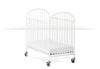 Compact Pinnacle RTA Folding Steel Evacuation Crib
